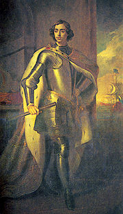 Готфрид Кнеллер «Пётр I», 1698
