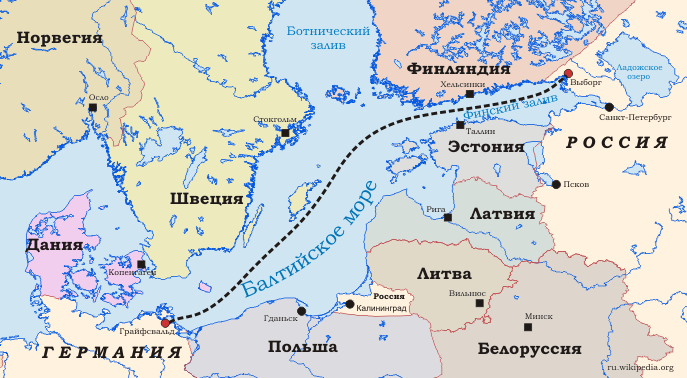 Файл:The gas pipeline Nord Stream.png