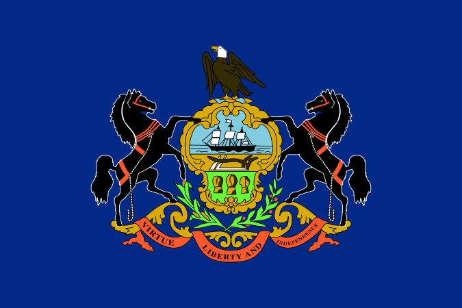 Файл:Flag of Pennsylvania.png