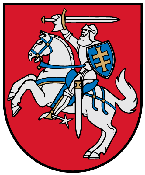Файл:Coat of arms of Lithuania.png