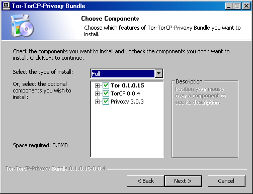 Файл:Tor TorCP Privoxy bundle installation choose components.png