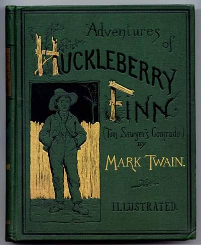 Файл:Huckleberry Finn book.JPG