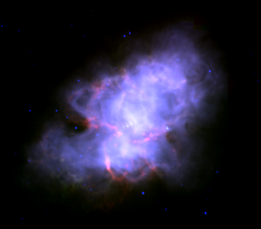 Файл:Crab 3.6 5.8 8.0 microns spitzer.png
