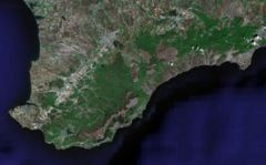 Crimean Mountains Satellite View.jpg