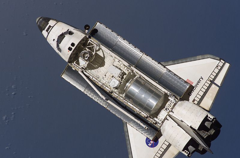 Файл:STS-121 Discovery approaching ISS.jpg