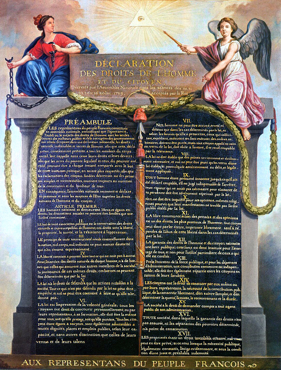 declaration of the rights of man and Declaration of the rights of man and citizen, a fundamental document of french constitutional history, drafted by emmanuel sieyès [1], adopted by the.