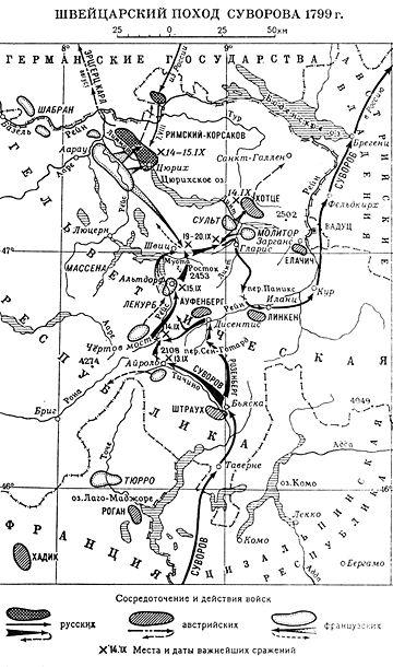 Швейцарский поход Суворова —