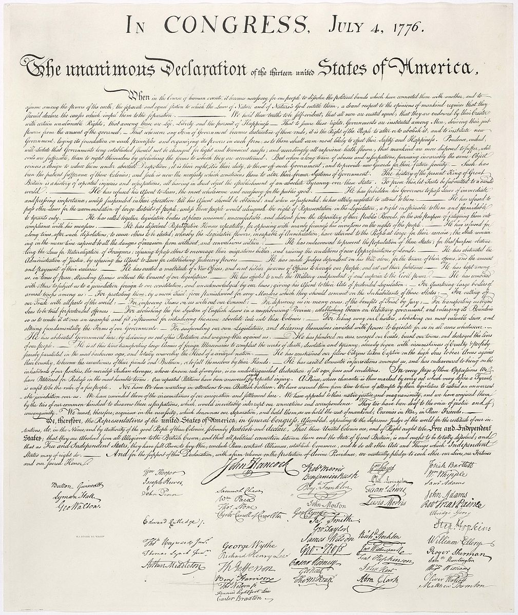 an analysis of equality in america through the declaration of independence the declaration of sentim Chairman: the inclusion in the constitution of declaration of fundamental rights safeguarding the cultural and religious life of the various communities and securing to every individual, without distinction of race, and so on,  the free exercise, and so on.