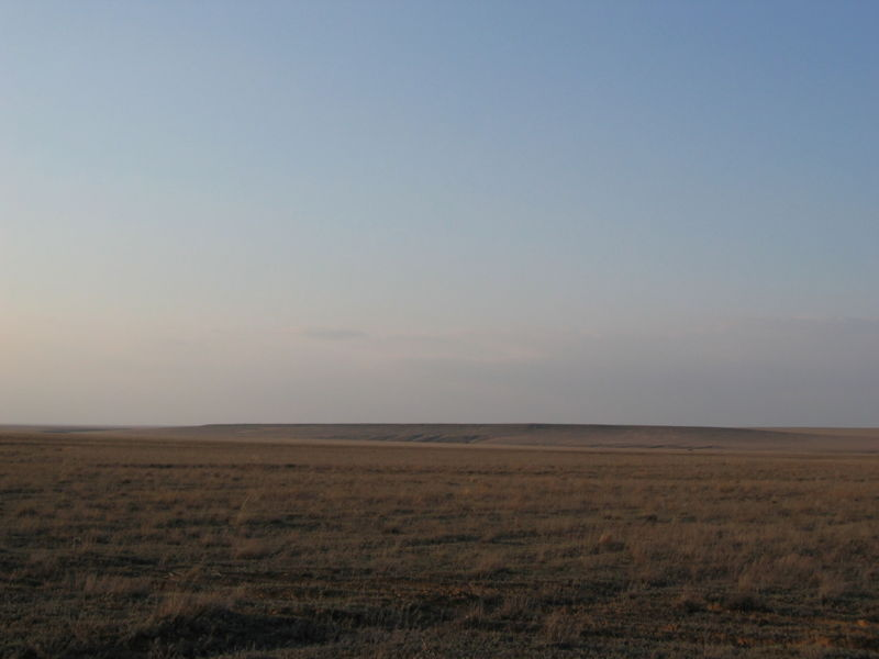 Файл:Steppe of western Kazakhstan in the early spring.jpg