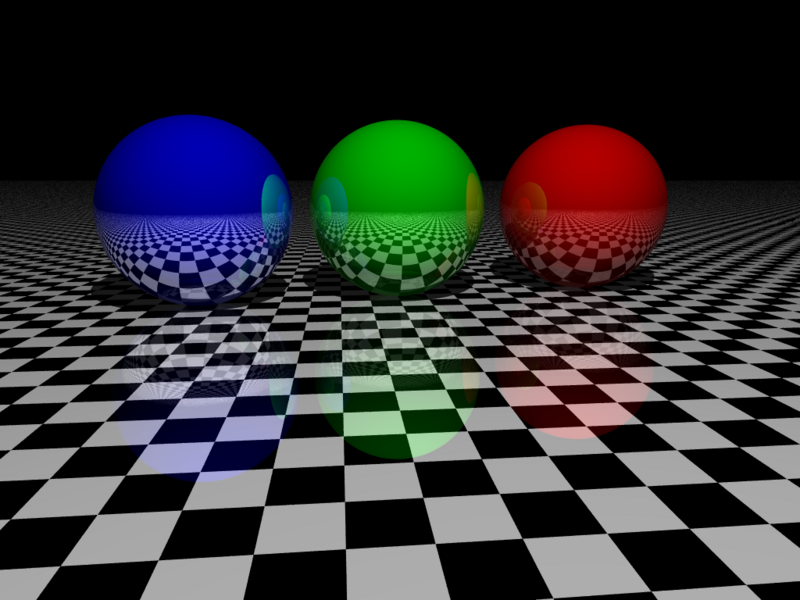 Файл:Raytracing reflection.png