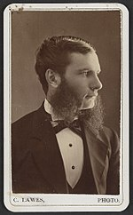 Unidentified man) - C. Lawes, photo. Cobourg LCCN2012647159.jpg