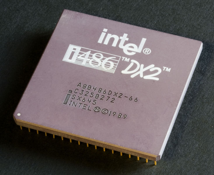 Файл:Intel 80486DX2 top.jpg