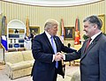 Donald Trump and Petro Poroshenko in the Oval Office, June 2017 (2).jpg