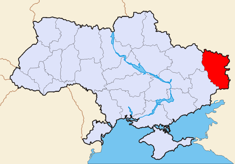Файл:Map of Ukraine political simple Oblast Luhansk.png
