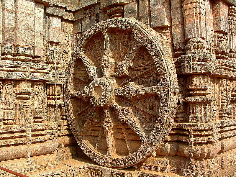 Файл:Wheel of Konark, Orissa, India.JPG
